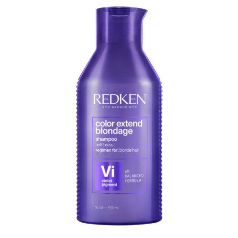 Redken Color Extend Blondage Shampoo Format spécial 500ml - shampooing anti-jaune