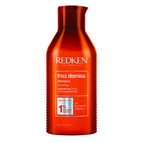 Redken Frizz Dismiss Shampoo Format spécial 500ml - shampooing pour cheveux crépus