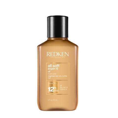 Redken All Soft Argan Oil 90ml - huile nourrissante