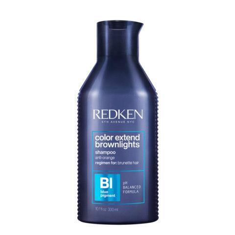 Redken Color Extend Brownlights Shampoo 300 ml - shampooing pour cheveux bruns