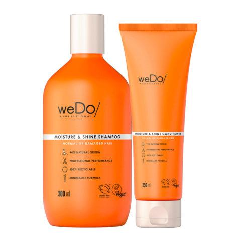 weDo Moisture & Shine Shampoo 300ml + Conditioner 250ml