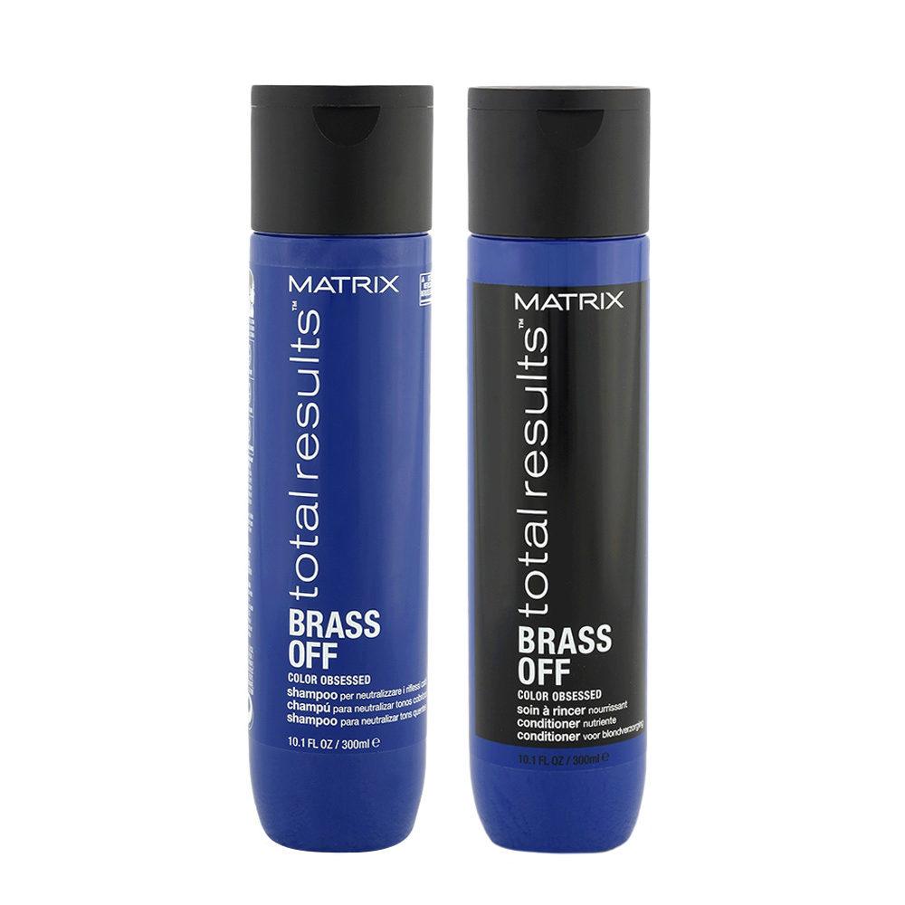 Matrix Total Results Brass Off Shampoo 300ml + Matrix Total Results Brass Off Conditioner 300ml