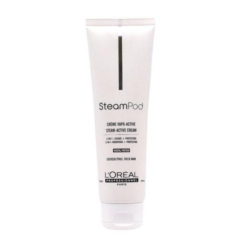 Steampod Crème Vapo Activée 150ml - crème lissante pour les cheveux épais