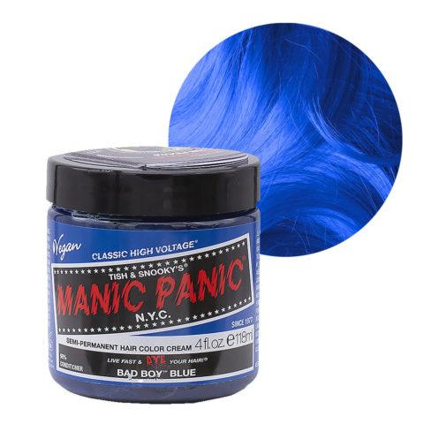 Manic Panic Classic High Voltage Bad Boy Blue  118ml - Crème Colorante Semi-Permanente