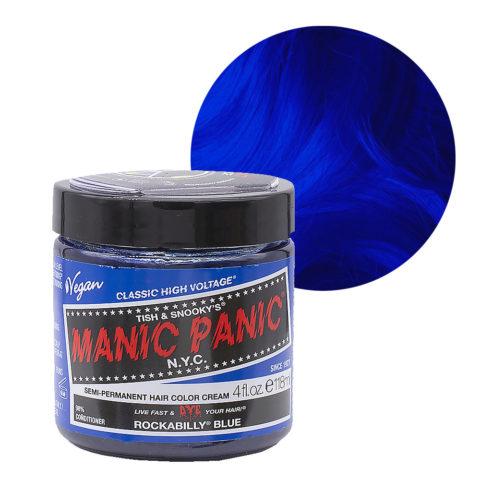 Manic Panic Classic High Voltage Rockabilly Blue 118ml - Crème colorante semi-permanente