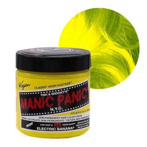 Manic Panic Classic High Voltage Electric Banana  118ml - Crème Colorante Semi-Permanente