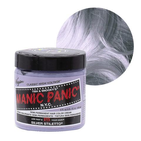 Manic Panic Classic High Voltage Silver Stiletto  118ml - Crème Colorante Semi-Permanente