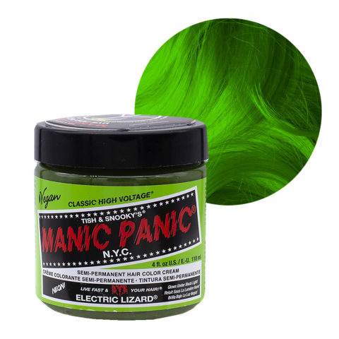 Manic Panic Classic High Voltage Electric Lizard 118ml - Crème colorante semi-permanente