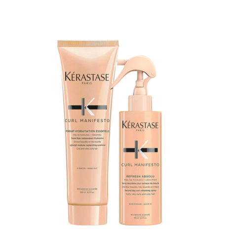 Kerastase Curl Manifesto Kit Spray Cheveux Bouclés 190ml Après-shampooing 250ml