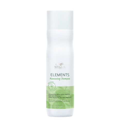 Wella Professionals New Elements Shampoo Renew 250ml - shampooing régénérant