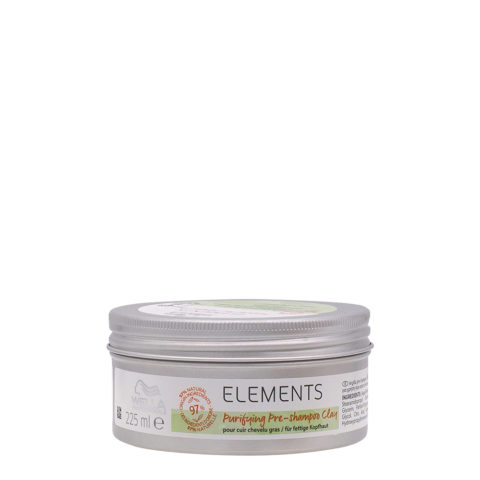 Wella Professional New Elements Clay Purify  225ml- Pré-shampoing pour cuir chevelu gras