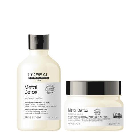 L'Oréal Professionnel Paris Serie Expert Metal Detox Kit Shampoo 300ml Masque 250ml