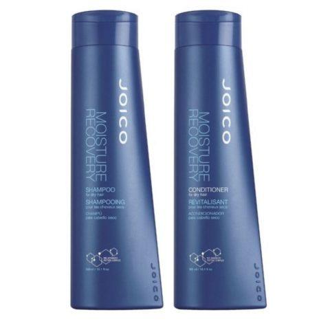 Joico  Moisture recovery Kit1 Shampoo 300ml Conditioner 300ml