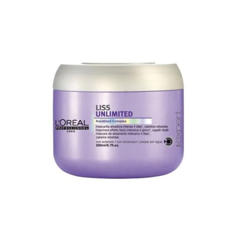 L'Oreal Liss Unlimited Keratinoil Complex Mask 200ml